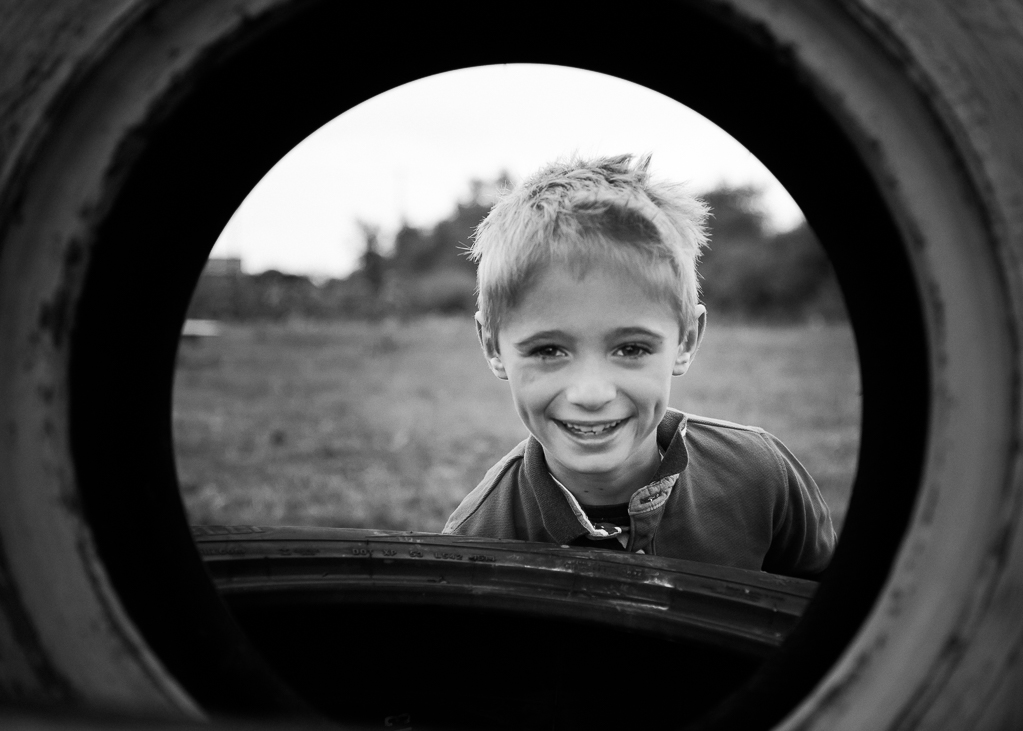 Creative child portrait