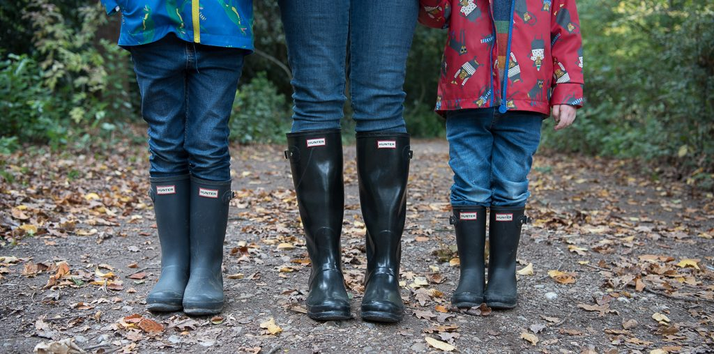 Matching wellies a great details to capture