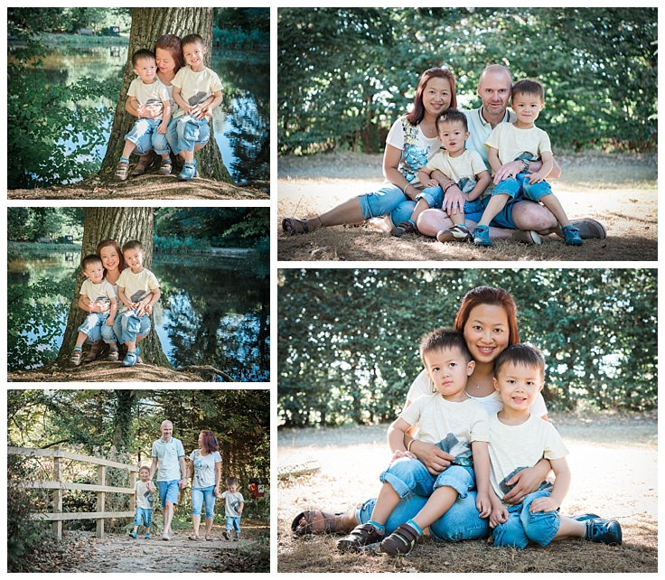 Mum dad and their two sons family photo session a gift mother's day