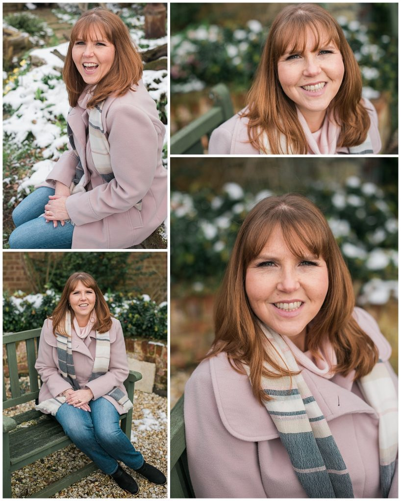 Personal Brand Photography Wedding Planner Relaxed Headshots