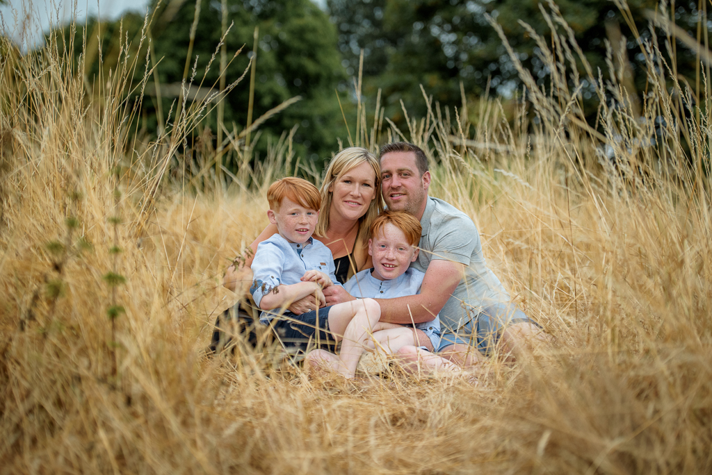 Outdoor family photoshoot Chelmsford Essex