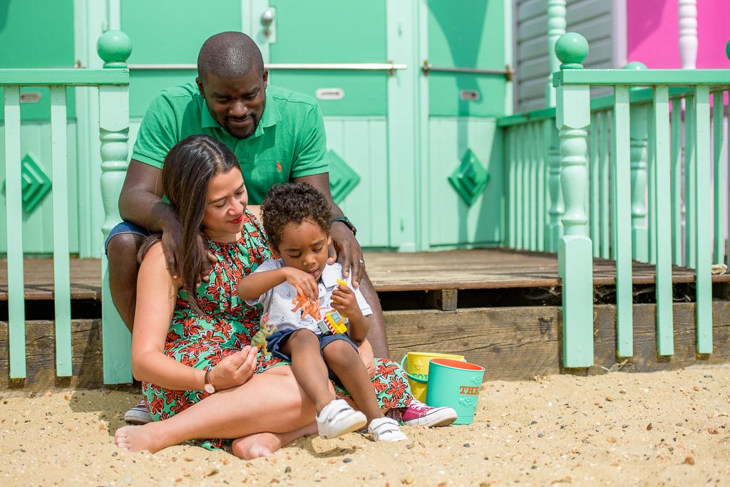 Mersea Island Beach Huts Family Photography Outdoors