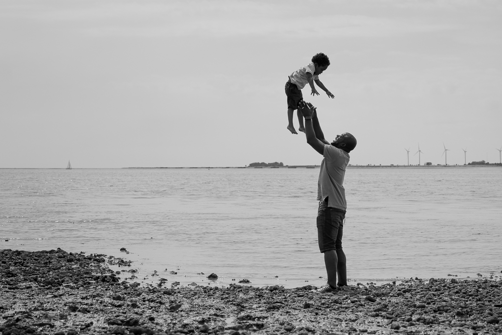 Outdoor children's photoshoot mersea island