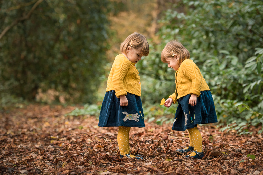 The Popitha Twins Outdoor photoshoot at Hylands chelmsford essex with clothes sponsored by Frugi