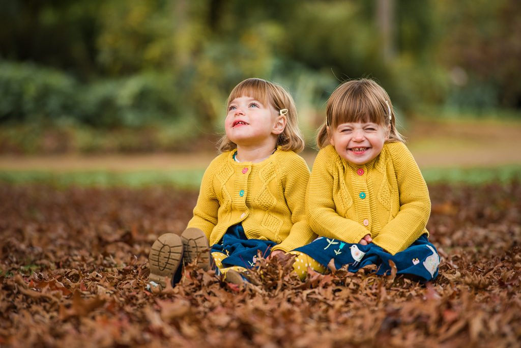 The Popitha Twins Outdoor photoshoot Hylands Estate